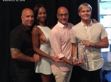 5John, Yasmeen, Richie and Jack with the award_mitlogo