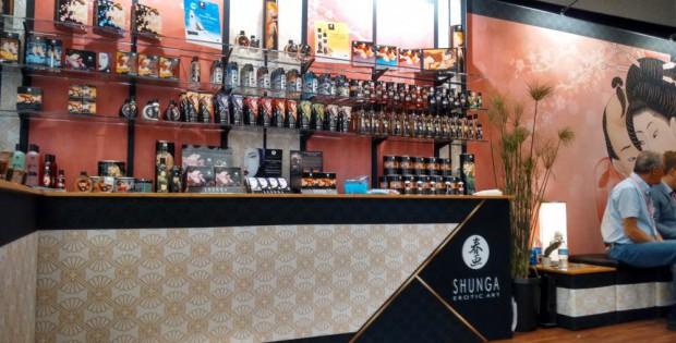 Shunga 2015 booth