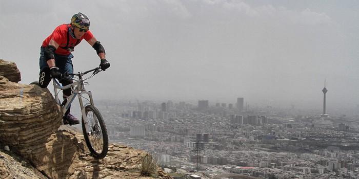 Marco Tortoni on a bike