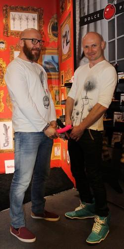 Marco Tortoni and Jack Romanski
