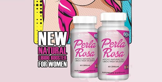 Perla Rosa Pills Ad