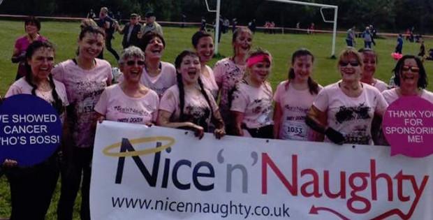 Nice'n'Naughty at charity run