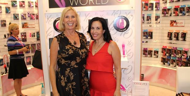 Susan Colvin und Bonnie Feingold at ANME