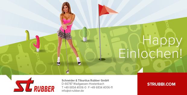 ST Rubber Promo Einlochen