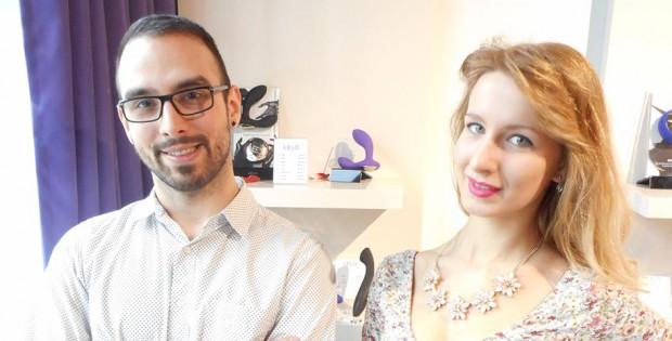 Łukasz Ociepa and Magda Kamińska
