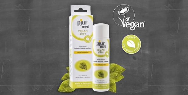 pjur Vegan Glide with Vegan Society Trademark