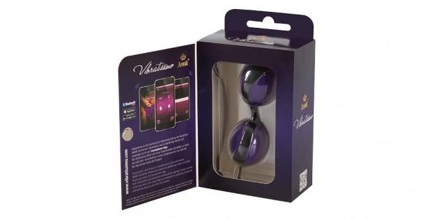 Open Vibratissimo Kegel Balls by AMOR Package