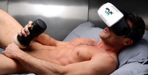 Guy Masturbating VR