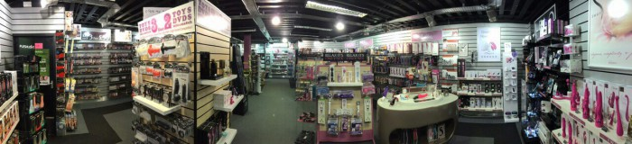 The Simply Pleasure shop in Oldham