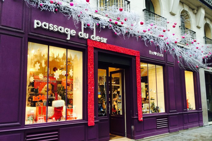 Sexshop in Paris