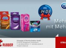ST Rubber Durex Clock Promotion