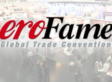 eroFame Logo with hall 2 in background
