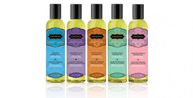 Kama Sutra's Aromatic Massage Oils