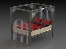 Render of Bed by Beyond Barz