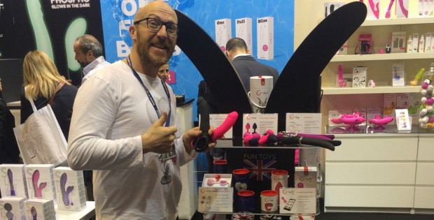 Marco Tortoni presents a FunToys Vibrator