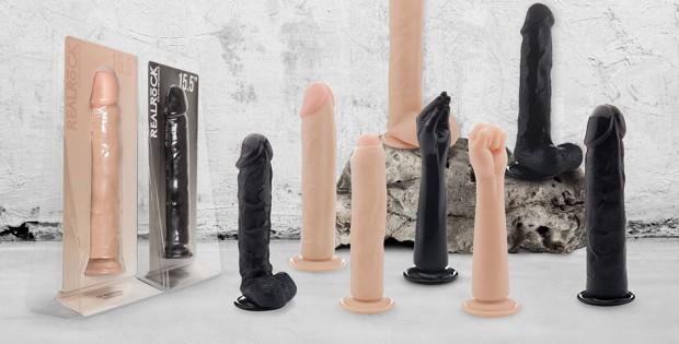 Realistic dildo vibrator