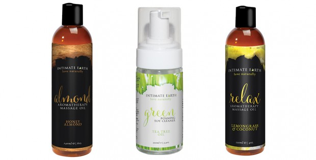Tubes from Intimate Earth: Almond, Green and Relax