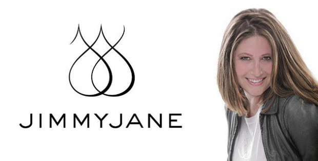Jimmyjane logo with Kendra Langer