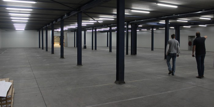 Empty EDC Warehouse