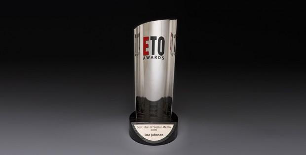 Doc Johnsons award for social media use from ETO 2016