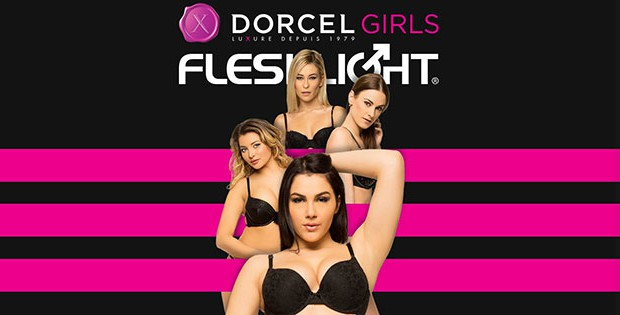 Four Fleshlight Girls by Dorcel