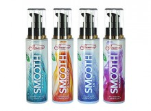 Smooth lubes by Sensuous in new packaging