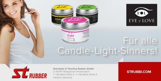 ST Rubber Candle Promotion