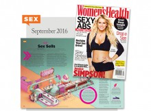 Article about Doc Johnson in Woman's Health magazine