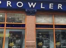 Window of Prowler Shop in London