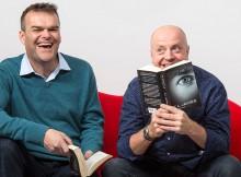 Richard Longhurst and Neal Slateford of Lovehoney reading Fifty Shades of Grey