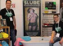 Dave Powley and Daniel Miller present Slube lube at the ETO show
