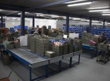 inside EDC's new warehouse