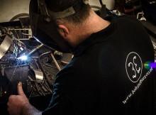 Joe Francis welding