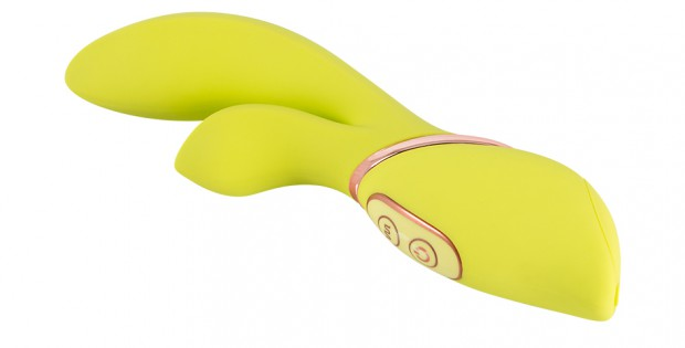 Jülie vibrator by Orion in yellow