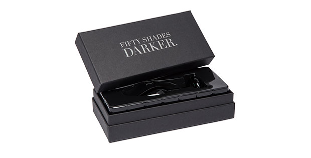 A butt plug from the Fifty Shades Darker Sex Toy collection
