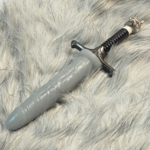 Long Shaft Dildo by Geeky Sextoys