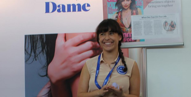 Alexandra Fine of Dame Products at eroFame