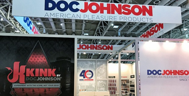 Doc Johnson Booth at eroFame