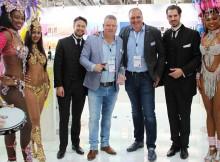 EDC at eroFame 2016 with award