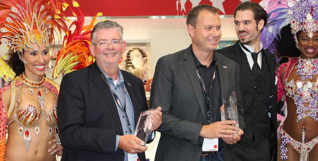 Orion Wholesale winning Awards at eroFame 2016