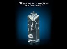 Businessman of the year award for Nick Orlandino