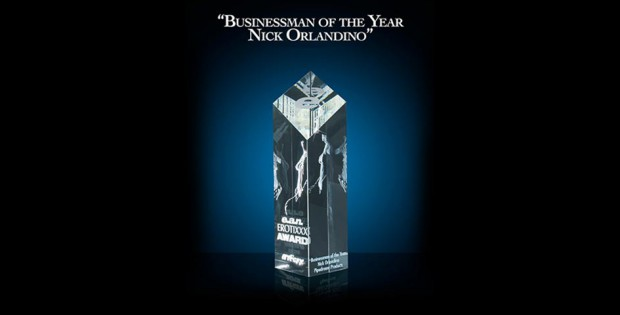 Businessman of the year award for Nick Orlandino