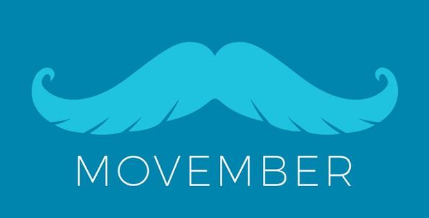 Blue Mustache