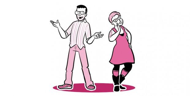 Matt Nolan and Erika Moen Comic