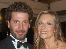 Fabio Bongiorno and Claudia Santoro
