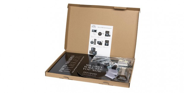 Fifty Shades of Grey Point of Sale Materials