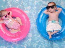 Babies in Pool